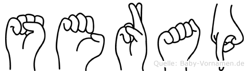 Serap in Fingersprache für Gehörlose