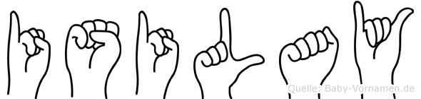 Isilay in Fingersprache für Gehörlose