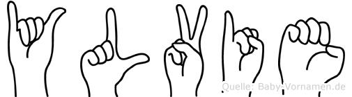 Ylvie in Fingersprache für Gehörlose