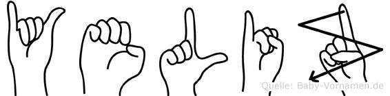 Yeliz in Fingersprache für Gehörlose