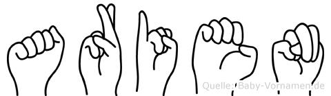 Arien im Fingeralphabet der Deutschen Gebärdensprache
