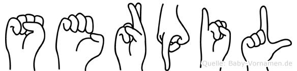 Serpil in Fingersprache für Gehörlose