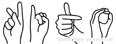Kito in Fingersprache für Gehörlose