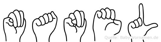 Manel in Fingersprache für Gehörlose