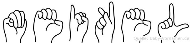 Meikel in Fingersprache für Gehörlose