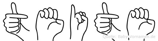 Teite in Fingersprache für Gehörlose