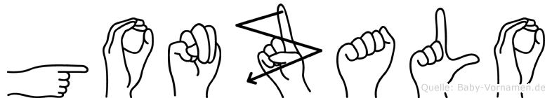 Gonzalo in Fingersprache für Gehörlose