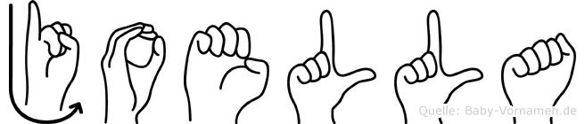 Joella in Fingersprache für Gehörlose