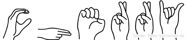Cherry in Fingersprache für Gehörlose