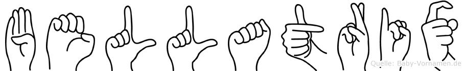 Bellatrix in Fingersprache für Gehörlose