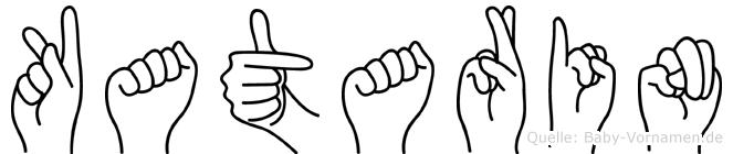 Katarin im Fingeralphabet der Deutschen Gebärdensprache