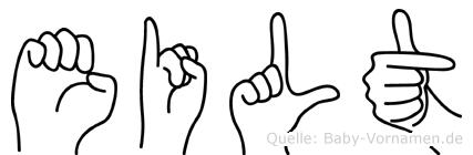Eilt in Fingersprache für Gehörlose