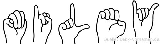 Miley in Fingersprache für Gehörlose