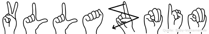 Vllaznim in Fingersprache für Gehörlose