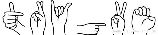 Trygve in Fingersprache für Gehörlose