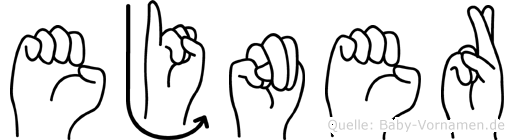 Ejner in Fingersprache für Gehörlose