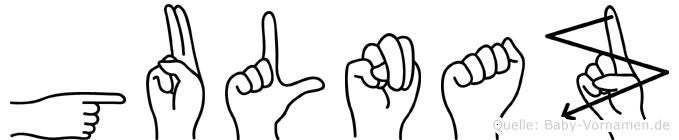 Gulnaz in Fingersprache für Gehörlose