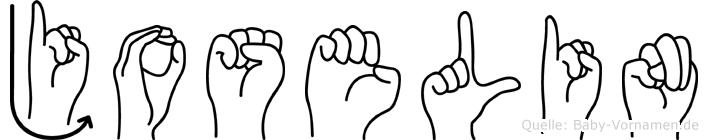 Joselin im Fingeralphabet der Deutschen Gebärdensprache