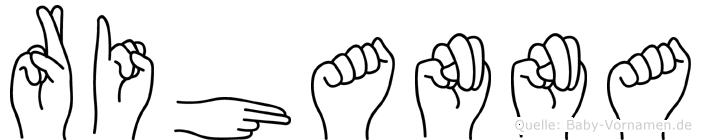 Rihanna in Fingersprache für Gehörlose