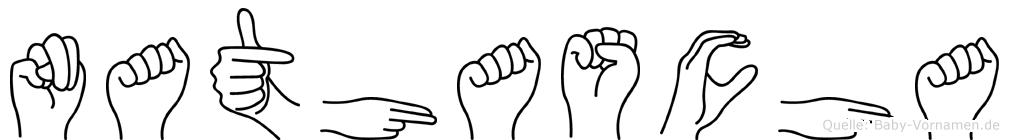 Nathascha in Fingersprache für Gehörlose