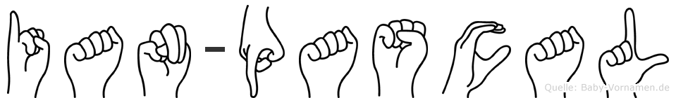 Ian-Pascal im Fingeralphabet der Deutschen Gebärdensprache