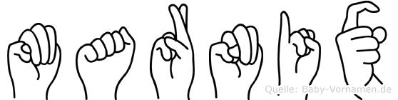 Marnix in Fingersprache für Gehörlose