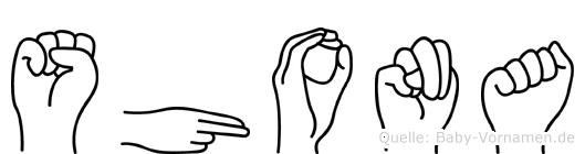 Shona im Fingeralphabet der Deutschen Gebärdensprache