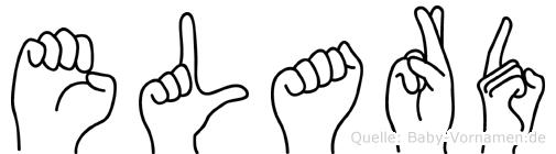 Elard in Fingersprache für Gehörlose
