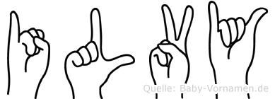 Ilvy in Fingersprache für Gehörlose