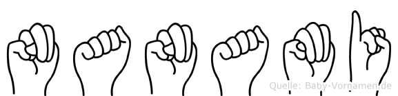 Nanami in Fingersprache für Gehörlose