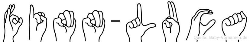 Finn-Luca im Fingeralphabet der Deutschen Gebärdensprache