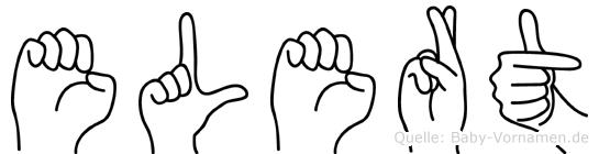 Elert in Fingersprache für Gehörlose