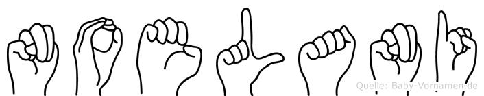 Noelani im Fingeralphabet der Deutschen Gebärdensprache