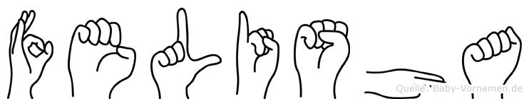 Felisha in Fingersprache für Gehörlose