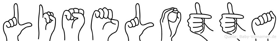 Liselotta in Fingersprache für Gehörlose