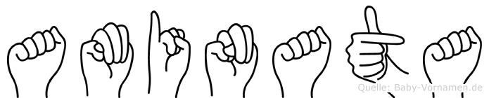 Aminata in Fingersprache für Gehörlose