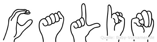 Calin in Fingersprache für Gehörlose