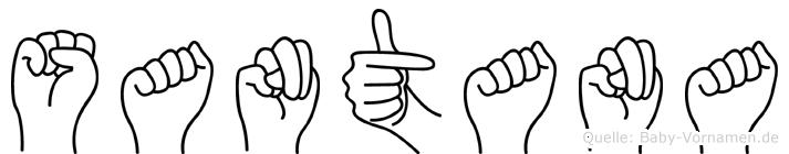 Santana in Fingersprache für Gehörlose