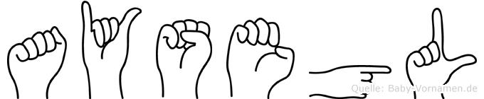 Aysegül in Fingersprache für Gehörlose