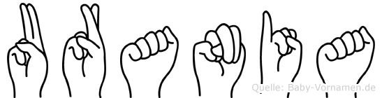 Urania in Fingersprache für Gehörlose