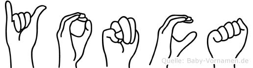 Yonca in Fingersprache für Gehörlose