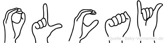 Olcay im Fingeralphabet der Deutschen Gebärdensprache