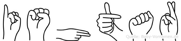 Ishtar in Fingersprache für Gehörlose