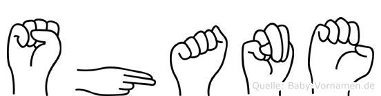 Shane in Fingersprache für Gehörlose