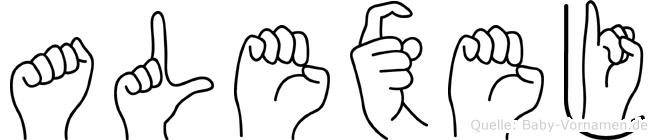 Alexej in Fingersprache für Gehörlose
