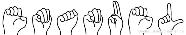 Emanuel in Fingersprache für Gehörlose