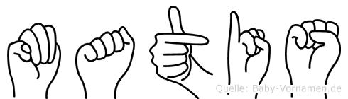 Matis in Fingersprache für Gehörlose