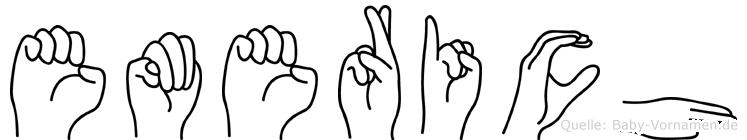 Emerich in Fingersprache für Gehörlose