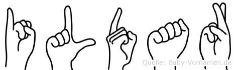Ildar in Fingersprache für Gehörlose