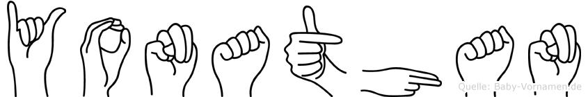 Yonathan in Fingersprache für Gehörlose